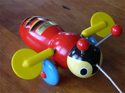 Buzzy bee toy